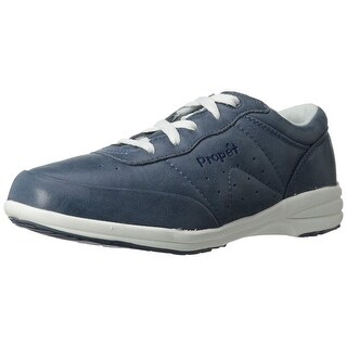 Propét Womens Washable Walker Lace-up Leather Low Top Lace Up Walking Shoes