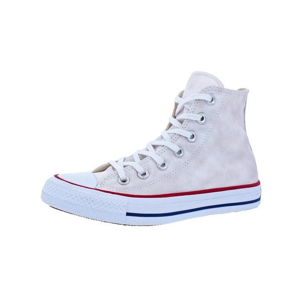 Converse Womens Chuck Taylor All Star Sheenwash Hi Skate Shoes Satin High Top - 5 medium (b,m)