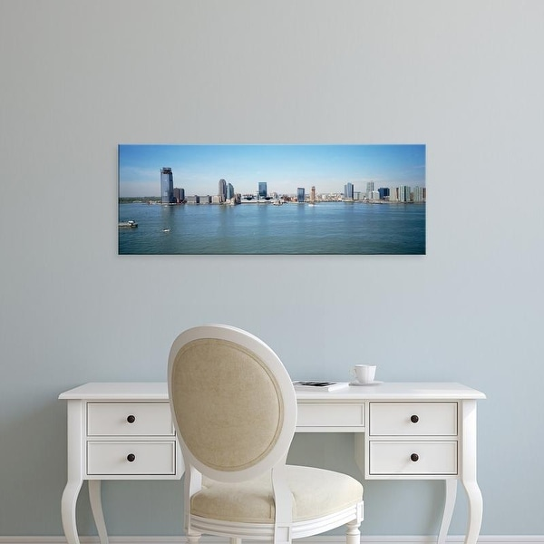Easy Art Prints Panoramic Images's 'Skyline New Jersey' Premium Canvas Art