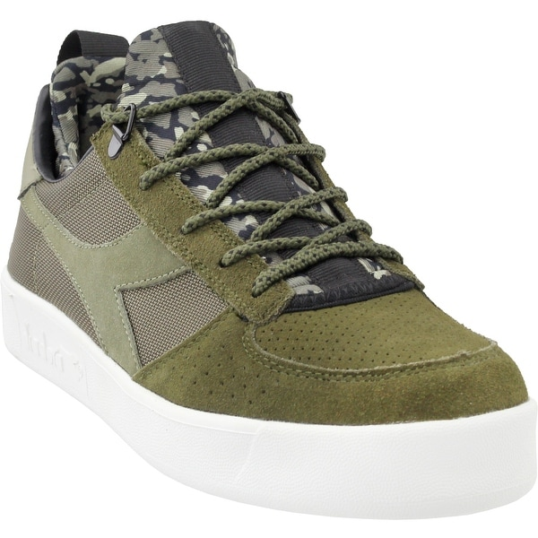 2a2dd408fc Shop Diadora Mens B.Elite Camo Socks Casual Sneakers Shoes - Free ...