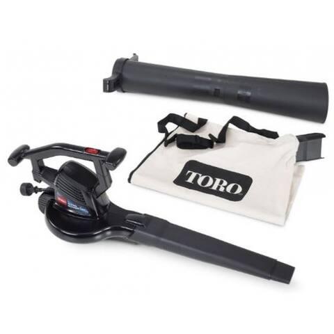 Toro 51618 Super Blower Vac, 12 Amp Motor, 3 Machines In 1
