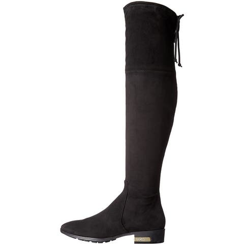 G by Guess Womens Zafira Almond Toe Over Knee Fashion Boots