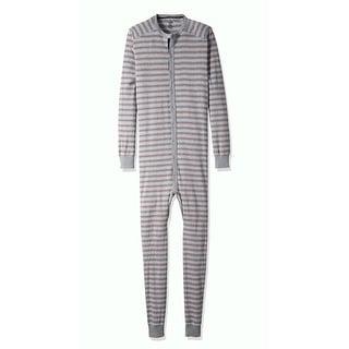 2(X)IST NEW Gray Red Mens Size Small S Striped One-Piece Sleepwear