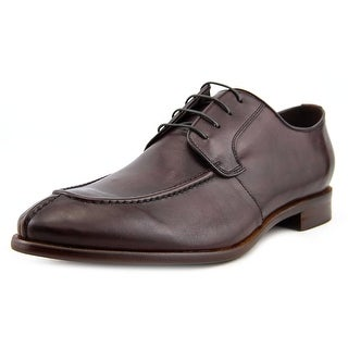 Aston Grey Collection Osaka Men Cap Toe Leather Burgundy Oxford
