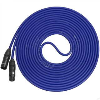 LyxPro Balanced XLR Cable 20 ft Premium Series Professional Microphone Cable, Powered Speakers and Other Pro Devices Cable