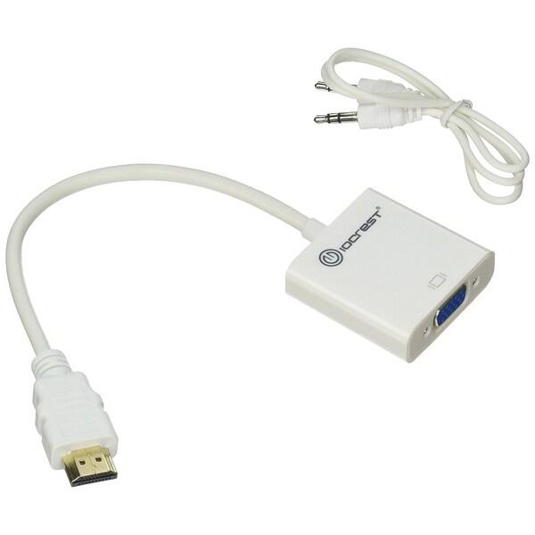 Syba Multimedia Inc - Hdmi 1.4 To Vga Adapter, W/ Audio Suppor