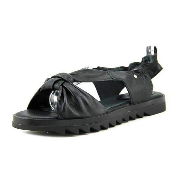 Bussola Bailey Open-Toe Leather Slingback Sandal