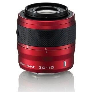 Nikon 1 NIKKOR VR 30-110mm f/3.8-5.6 Lens (Red)