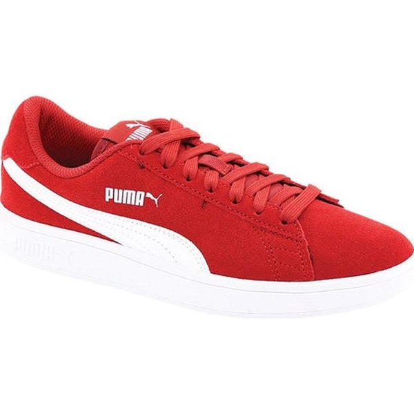 d39321c194d Shop PUMA Smash V2 Sneaker Red Dahlia PUMA White - Free Shipping ...