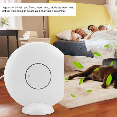 Household PTC Ceramics Heater Warm Fan Machine US Plug110V