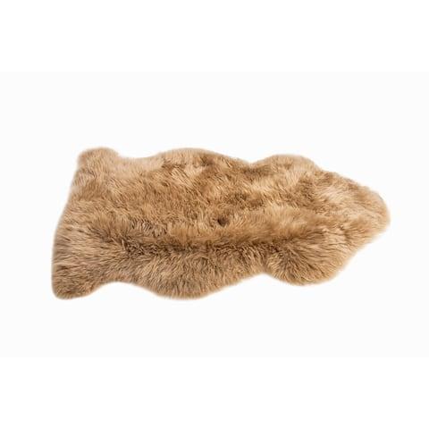 MILAN SHEARLING Single Sheepskin Rug - 2' x 3'