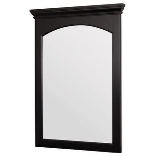 "Foremost BECM2331 Berkshire 23"" Vanity Bathroom Mirror with Crown Molding"