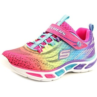 S Lights By Skechers Litebeams Youth Round Toe Synthetic Multi Color Sneakers