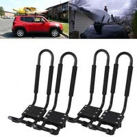 Arksen Universal (2) Pair Kayak Canoe Car Top Mount Carrier Roof Rack Mounted Boat Ski Surf SUV VAN J-Bar
