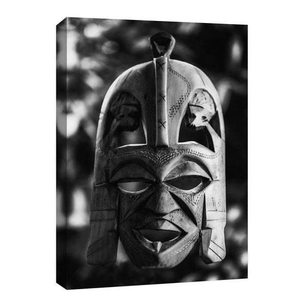 """PTM Images 9-126729 PTM Canvas Collection 8"""" x 10"""" - """"Ritual Mask"""" Giclee Archaeological Art Print on Canvas"""