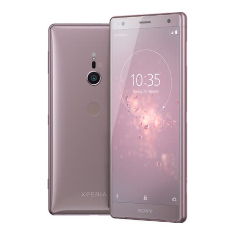 Sony Xperia XZ2 Unlocked Smartphone (Ash Pink) - Pink