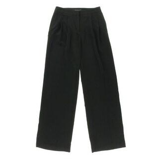 Zara Basic Womens Wide Leg Double Pleat Dress Pants - S