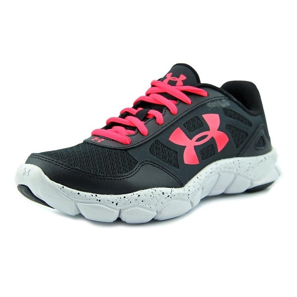 Under Armour Micro G Engage BL Women  Round Toe Synthetic Black Running Shoe