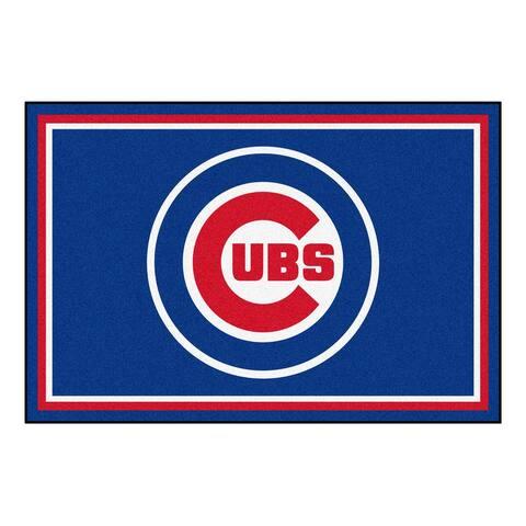 MLB - Chicago Cubs 5ft. x 8 ft. Plush Area Rug - 5' x 8'/Surplus - 5' x 8'/Surplus