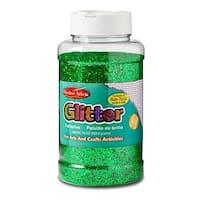 Glitter 16 Oz Bottle Green