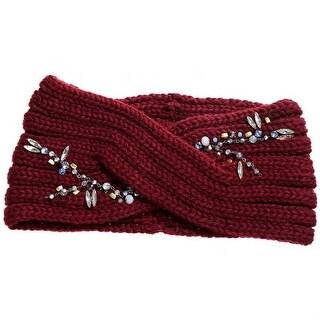 Mad Style Merlot Crystal Vine Wide Headband