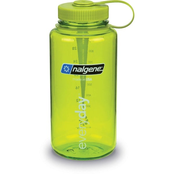 Nalgene Tritan 32-Ounce Wide Mouth Bottle, Spring Green