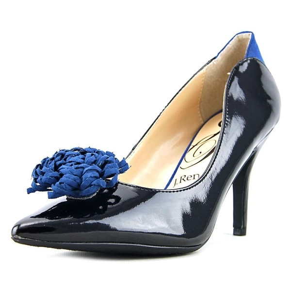 J. Renee Ranita Women Black/Royal Pumps