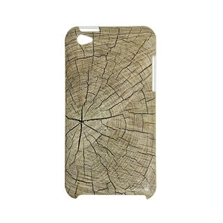 Plastic Hard Wood Print IMD Protector Phone Case for iPod Touch 4G