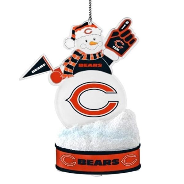 282321f2 Chicago Bears Ornament - LED Snowman