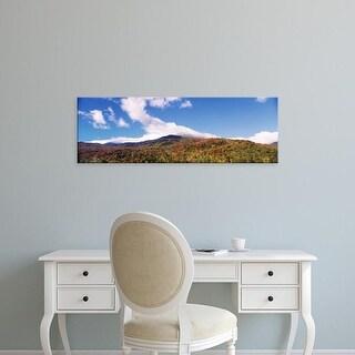 Easy Art Prints Panoramic Images's 'Presidential Range, Mount Washington, New Hampshire, USA' Premium Canvas Art