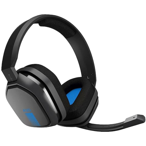 Logitech Astro A10 Wired Gaming Headset w/Boom Microphone & 3.5mm Plug (Certified Refurbished)