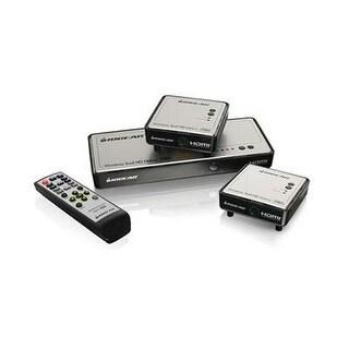 Iogear Long Range Wireless 5X2 Hdmi Matrix Pro With 1 Additional Receiver, Gwhdms52mbk2