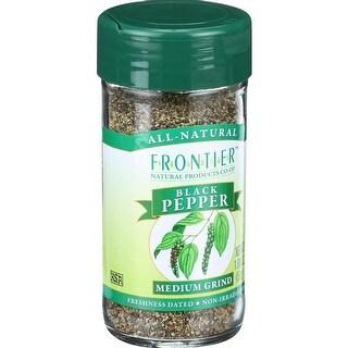 Frontier Herb - Medium Grind Pepper ( 1 - 1.8 OZ)