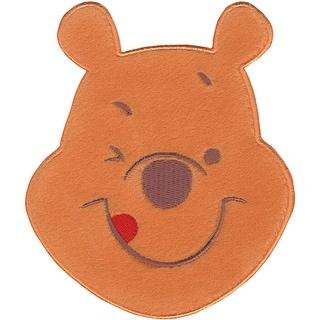 Disney Winnie The Pooh Iron-On Applique-Smiling Pooh