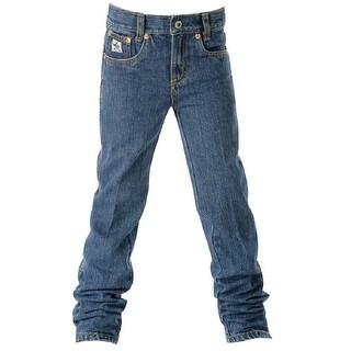 Cinch Western Denim Jeans Boys 5 Pocket Adjustable Basic MB10082001