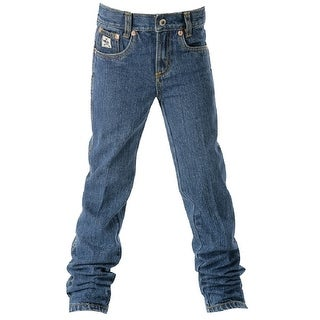 Cinch Western Denim Jeans Boys 5 Pocket Adjustable Basic