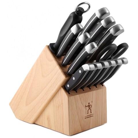 J.A. Henckels 13550-005 International Statement Knife Block Set, 15 Piece