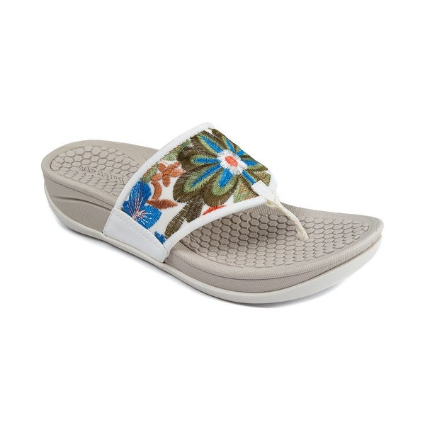 Baretraps Dasie Women's Sandals & Flip Flops White Multi