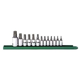 13 piece Torx Press Fit Bit Socket Set