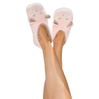 Women's Animal Footsie Slippers - Cat Nap|https://ak1.ostkcdn.com/images/products/is/images/direct/2d5f8fe25f14b47cc69b0baabefbc247da806fc7/Women%27s-Animal-Footsie-Slippers---Cat-Nap.jpg?impolicy=medium