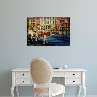 Easy Art Prints Danny Head's 'Venetian Canals IV' Premium Canvas Art
