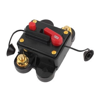 Unique Bargains Plastic Shell 100A Car Audio Stereo Inline Power Circuit Breaker
