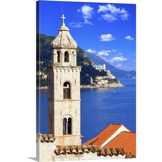 """Dubrovnik city"" Canvas Wall Art"