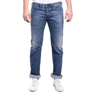 Diesel Men's Safado Regular Slim-Straight Denim Jeans 0R08M