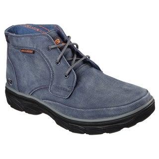 Skechers 64802 BLU Men's RESMENT-TAVOS Boot