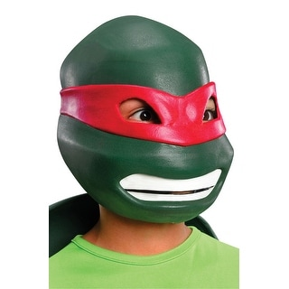 Rubies Raphael Child Vinyl Mask - Green