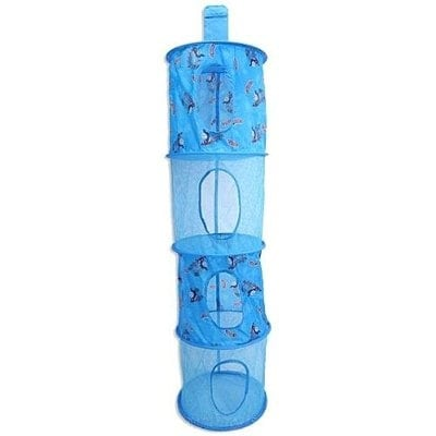 Thomas and Friends 4-Tier Hanging Mesh Storage Organizer - 50.0 in. x 11.0 in. x 11.0 in.