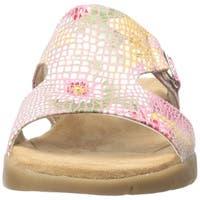 Aerosoles Womens New Wip Suede Open Toe Casual Slide Sandals