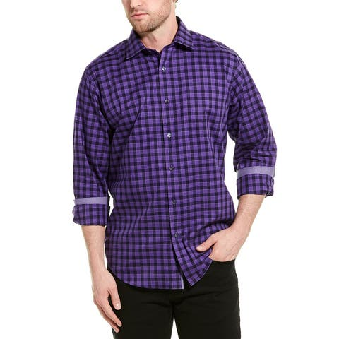 Bugatchi Classic Fit Woven Shirt