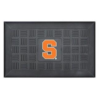 Syracuse University Medallion Door Mat